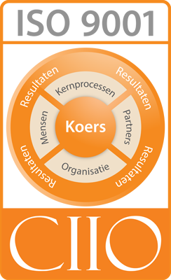 Pro Facto is ISO9001 CIIO gecertificeerd